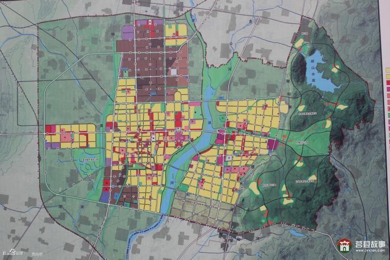 莒县城市总体规划(2011-2030年)_莒县城市规划
